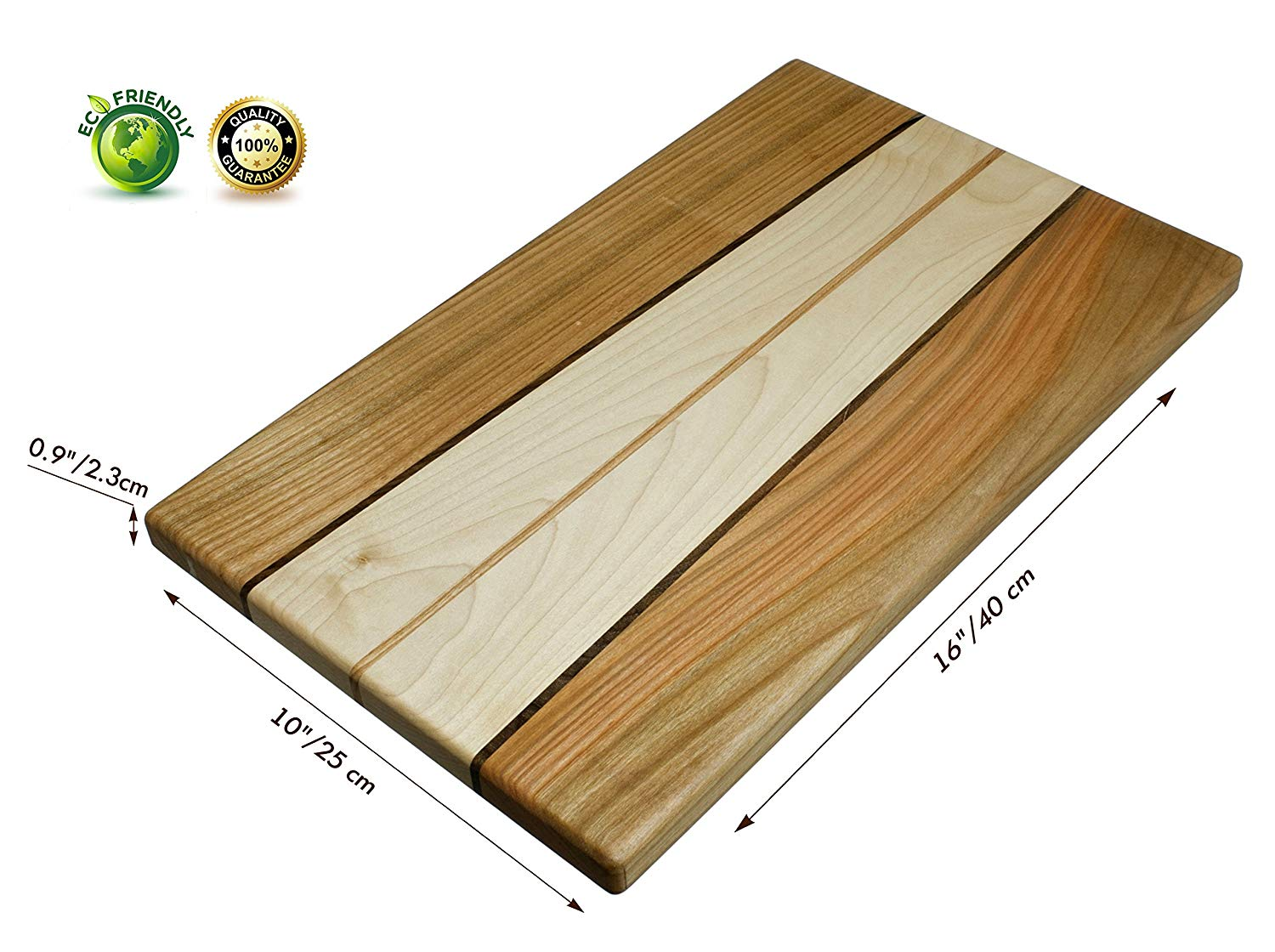 NaturalDesign Maple, Walnut, and Cherry Hardwood Chopping Board